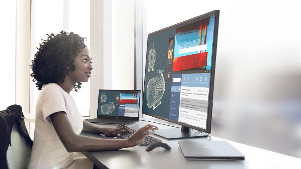 Новые мониторы Dell UltraSharp и решения для конференц-залов