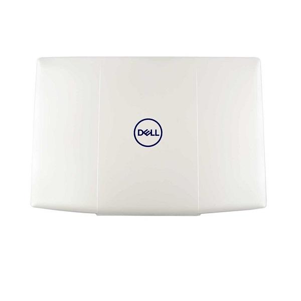 Крышка матрицы для ноутбука Dell Inspiron G3 15 3590 (белая) (Blue logo)
